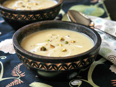 Image forPressure Cooker Creamy Parsnip Apple Soup