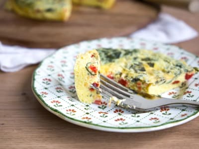 Image forPressure Cooker Crustless Quiche