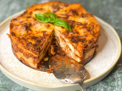 Image forPressure Cooker Lasagna with Meat Sauce
