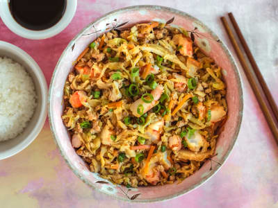 Image forPressure Cooker Egg Roll In A Bowl