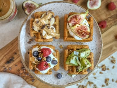 Image forPressure Cooker Golden Milk Sweet Potato Waffles