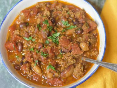 Image forPressure Cooker 3 Bean Chili Con Carne