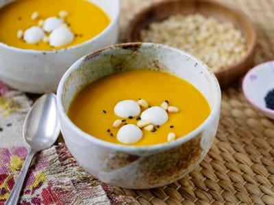 Image forPressure Cooker Korean Pumpkin Porridge (Hobakjuk)