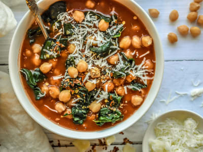 Image forPressure Cooker Spicy Chickpea Soup