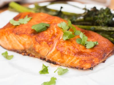 Image forAir Fryer Asian Salmon