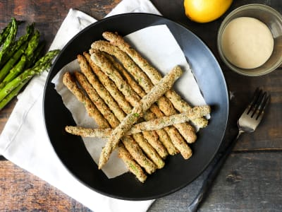 Image forAir Fryer Asparagus Fries