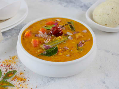 Image forPressure Cooker South Indian Sambar Curry