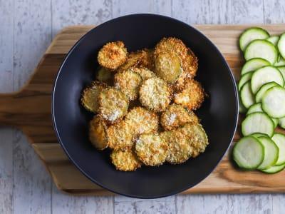 Image forAir Fryer Zucchini Chips