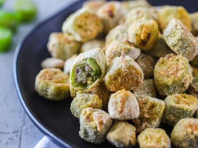 Image forAir Fryer Fried Okra