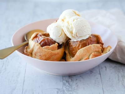 Image forAir Fryer Apple Dumplings