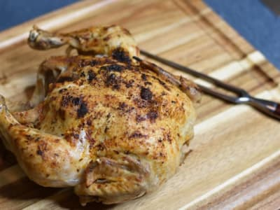 Image forPressure Cooker Faux-tisserie Chicken with CrispLid