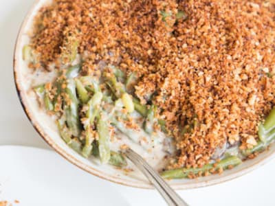 Image forPressure Cooker Green Bean Casserole with CrispLid