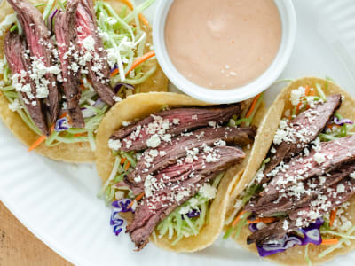 Image forCrispLid Steak Tacos
