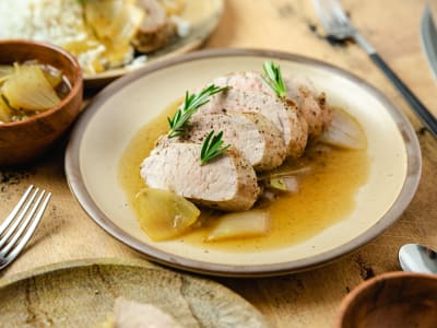 Image forPressure Cooker Filete de Cerdo (Chilean Pork Tenderloin)