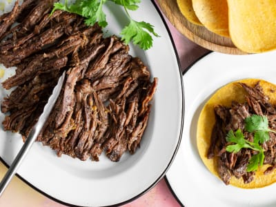 Image forPressure Cooker Shredded Skirt Steak