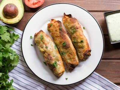 Image forCrispLid Avocado Egg Rolls