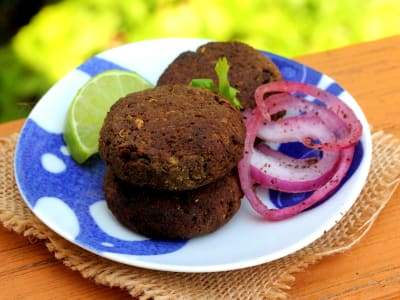Image forPressure Cooker Shammi Kabab with CrispLid