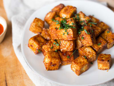 Image forCrispLid Crispy Honey Soy-Glazed Tofu