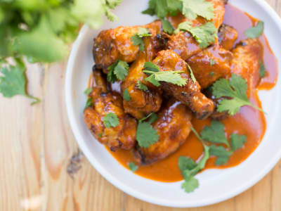 Image forAir Fryer Thai Curry Wings