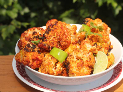 Image forCrispLid Tandoori Gobi (Cauliflower Cooked with Tandoori Spices)