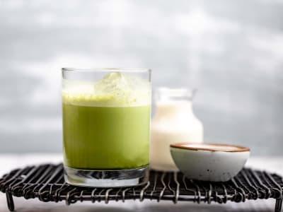 Image forBlender Iced Matcha Latte