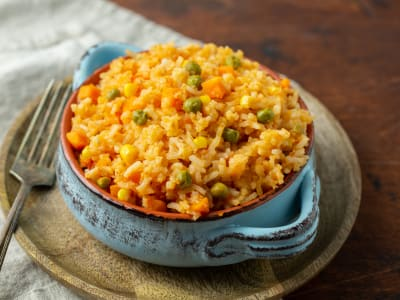 Image forPressure Cooker Arroz Rojo (Red Rice)