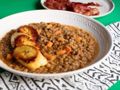 Image forPressure Cooker Lentejas al la Mexicana (Mexican Lentils)