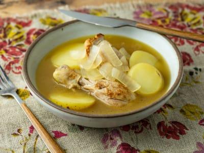 Image forPressure Cooker Pollo Al Vino Blanco (Chicken in White Wine)