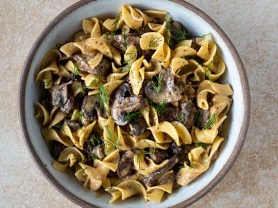 Image forPressure Cooker Beef Stroganoff