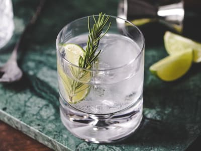 Image forClassic Gin and Tonic Cocktail
