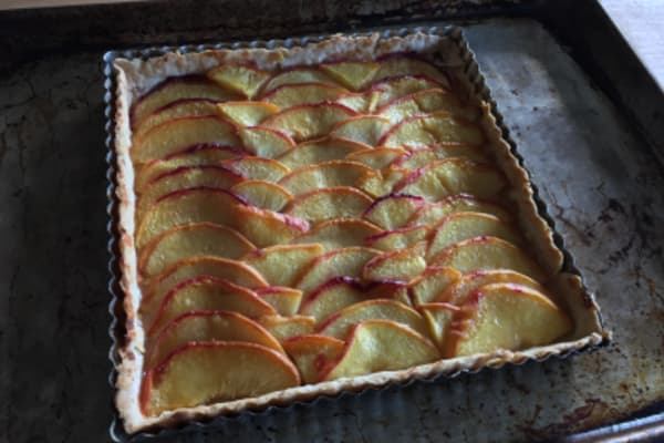 Image for Summer's End Peach Tart