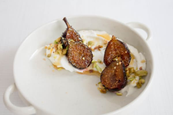 Image for Greek Yogurt with Caramelized Figs and Pistachios