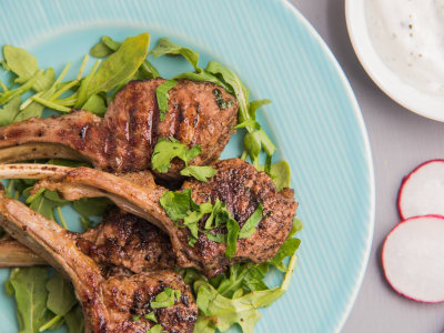Image for Grilled Lamb Chops with Sumac