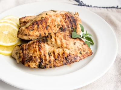 Image for  Lemon and Oregano Grilled Chicken