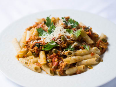 Image for Pasta with Tuna and Capers