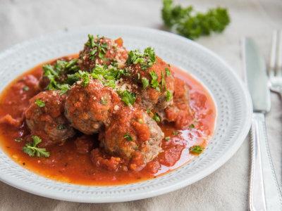 Image for Easy Dinner Meatballs