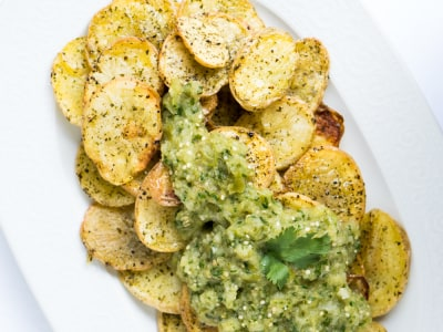 Image for Roasted Potatoes with Salsa Verde