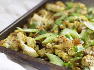 Image for Curry Roasted Cauliflower