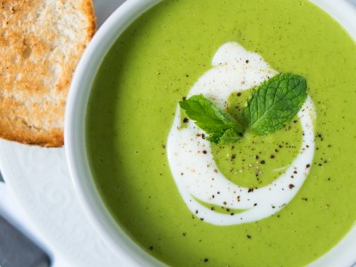 Image for Mint and Pea Soup