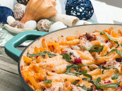 Image for Spicy Sausage Penne Bake