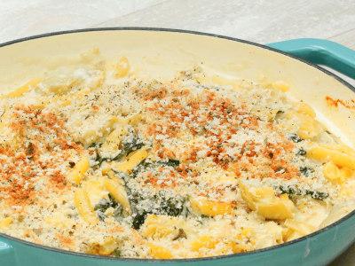 Image for Creamy Spinach-Artichoke Pasta