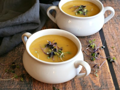 Image for Creamy Roasted Vegetable Soup