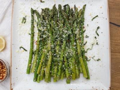 Image for Lemon Roasted Asparagus