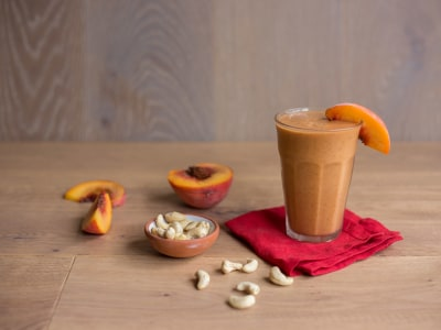 Image for Creamy Peach Smoothie