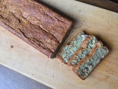 Image for Vegan Gluten-Free Coconut-Banana Bread with Hemp Seeds