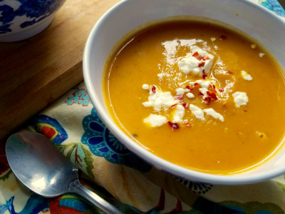 Image for Five-Ingredient Butternut Squash and Fennel Soup
