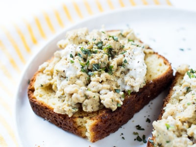 Image for Super-Soft Ricotta Scrambled Eggs