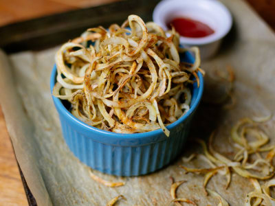 Image for Baked Spiralized Curly Fries