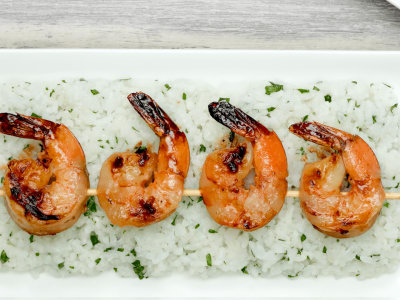 Image for Honey and Garlic Shrimp Skewers