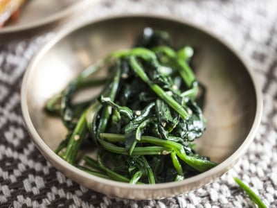 Image for Korean Spinach Banchan Side Dish